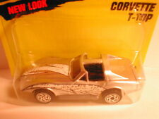 Matchbox 1996 #58 CORVETTE T-TOP silver    --check my store for 100+ more MB