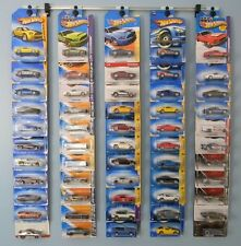 Diecast wall display for Hot Wheels, Matchbox, Jada, Clamshell and Blister packs