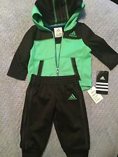 Adidas Baby Boy Track Sweat Suit 3m NWT Free Shipping