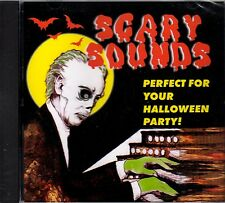 SCARY SOUNDS: 98 HORROR SOUND EFFECTS - RARE VINTAGE HALLOWEEN HAUNTED HOUSE CD!