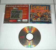 Gioco Pc Cd LORDS OF THE REALM II – OTTIMO Sierra 1996