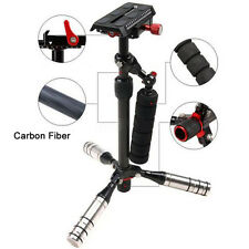 Pro Portable Carbon Fiber Steadycam Handheld Camera Stabilizer for DSLR Cameras