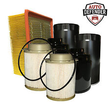 1 Air, 4 Fuel & 2 Oil Filters for 09-16 Dodge Ram Cummins 6.7L Turbo Diesel