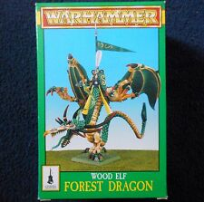 1996 WOOD ELF Foresta Dungeons and Dragons Games Workshop WARHAMMER D&D wyrm Nuovo di zecca con scatola GW