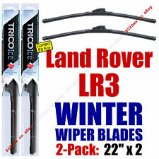 WINTER Wipers 2-Pack Premium Grade - fit 2005-2009 Land Rover LR3 - 35220x2