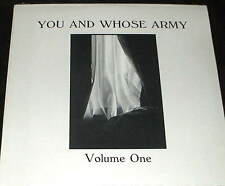 YOU AND WHOSE ARMY  LP PRIVATE 80s HARD ROCK AOR South Dakota PYE RACOONS sealed