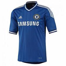 Chelsea FC Home Camicia 2013-14 Uomo XXL 2xl ADIDAS SAMSUNG ORIGINALE NUOVO CON ETICHETTA NUOVO CON SCATOLA NUOVO