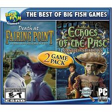 Death at Fairing Point & Echoes of the Past Castle of Shadows PC Games Computer