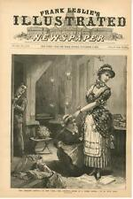 Operatic Revival in New York - The Dressing Room of a Prima Donna    -  1883