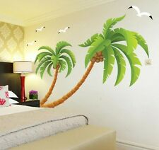 coconut palm Home Decor Removable Wall Sticker/Decal/Decoration