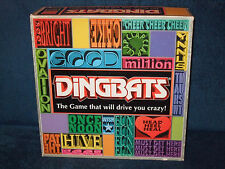 DINGBATS - ELECTRONIC GAME WITH REVOLVING GAME BOARD 1999 - MADE BY GOLIATH