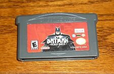 Batman Vengeance Nintendo Game Boy Advance video game GUARANTEED!
