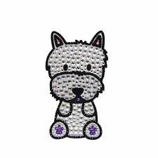 Westie Dog Rhinestone Glitter Jewel Phone Ipod Iphone Sticker Decal