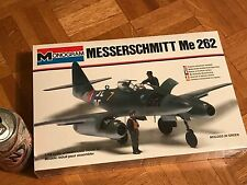 WW#2, GERMAN, MESSERSCHMITT Me 262, FIGHTER PLANE, PLASTIC MODEL KIT, Scale 1/48
