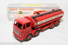 P DINKY TOYS 943 LEYLAND OCTOPUS TANKER TRUCK ESSO MINT BOXED RARE SELTEN RARO