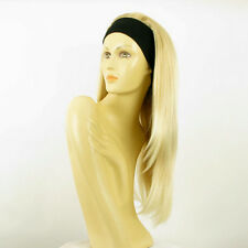headband wig woman long blond golden wick very light blond ref: NIKITA 24bt613