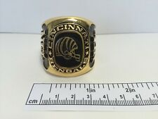 Cincinnati Bangles Oversized Ring Paperweight Decoration NFL Rare Vintage