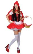 Adulti Da Donna Taglia Unica Sexy Little Red Hot Riding Hood Costume Festa Costume