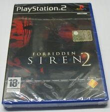 FORBIDDEN SIREN 2 SONY PS2 PLAYSTATION 2 PAL ITALIANO NUOVO SIGILLATO NEW