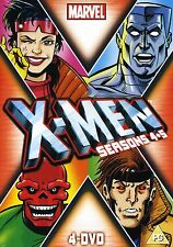 X-Men xmen x men Seasons 4 & 5 4 x DVD boxSet marvel originals DVD NEW SEALE
