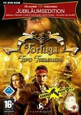 TORTUGA TWO TREASURES JUBILÄUMSEDITION Patrizier 2 Port Royal Gold Piraten Sehr