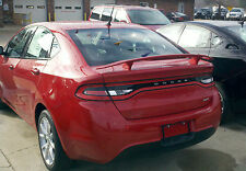 #526 PAINTED CUSTOM SPOILER fits the 2013 2014 2015 DODGE DART
