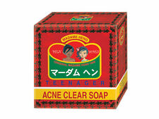 50 g Acne Clear Soap Madame Heng Anti Pimples Blemish Teen Face Body Natural Bar