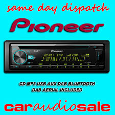 PIONEER DEH-X7800DAB CD MP3 BT DAB USB iPOD iPHONE ANDROID CAR STEREO + AERIAL