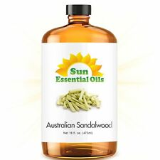 Sandalwood (Australian) Best Essential Oil - [MEGA 16oz] FREE EXPEDITED SHIPPING