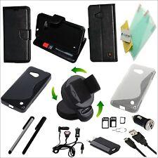 20 teile Microsoft Nokia lumia 550 Zubehör Set Pack Megapack Tasche  Ladegerät