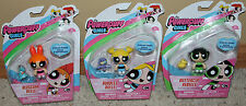 3 Powerpuff Girls Figures Blossom Belle Bubbles Bulle Buttercup Rebelle