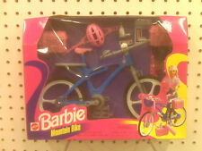 NEW - BARBIE MOUNTAIN BIKE - MADE IN 1998 - 67560-92 - SEALED FROM FACTORY