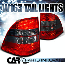 98-05 Mercedes Benz W163 M-Class ML320 ML430 Red Smoke LED Tail Light Rear Lamp