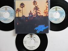 LOT OF 4 ' THE EAGLES ' HIT 45's+1P(Copy)[Hotel California]    THE 70's !