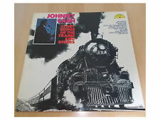 Johnny Cash - Story Songs Of The Trains And Rivers - LP - SUN UK