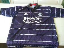 maillot de football Manchester United sharp digital   jersey  L Adidas