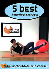 Barre Toning EXERCISE DVD Barlates Body Blitz - 5 Best Inner Thigh Exercises!
