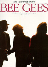 The Very Best Of The Bee Gees Learn to Play Piano Vocal & Guitar Music Book