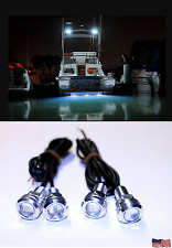 4x White LED Boat Lights Kit Waterproof Pod Bright LED Strips Marine Interior