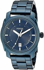 Fossil Men's FS5231 'Machine' Blue Stainless Steel Watch