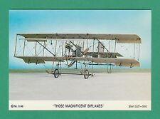 AEROPLANES  -  BERIC TEMPEST POSTCARD - BIPLANE -  SHORT  S.27  OF  1910
