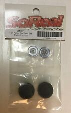 So Real Concepts 1/24 Funny Car Front Wheel Set (New) 0107