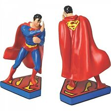 Bookends - Pair of Superman Bookends - Resin