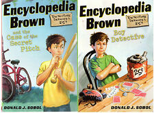 Complete Set Series - Lot of 29 Encyclopedia Brown books by Donald Sobol (YA)