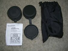 USGI Tenebraex M22-B2-ARD Kill Flash Pair (2pc) w/Carry Bag for M22 7x50 Binos