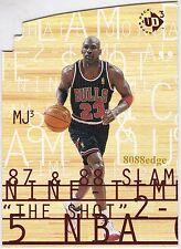 1997-98 UPPER DECK UD3 MJ3: MICHAEL JORDAN #MJ3-1 DIE-CUT 3x ALL-STAR GAME MVP