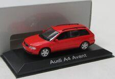 Audi A4 Avant ( 2001-2004 ) rot / Minichamps 1:43
