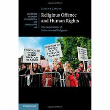 Religious Offence Human Rights Implications Defamatio. 9781107039575 Cond=LN:NSD