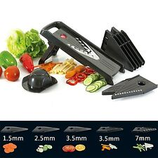 Rullaco Multi Mandolin Slicer - Vegetable Cutter Kithen Set - Food Holder and...