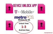 Official Metro PCS / T-Mobile Device Unlock App Service- INSTANT-Self Service!!!